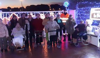 La 'Casa de las Luces' de Aldeamayor cerró 2019 con una visita muy especial