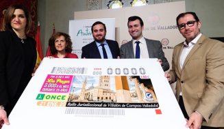 El Rollo Jurisdiccional de Villalón de Campos protagoniza el cupón de la ONCE