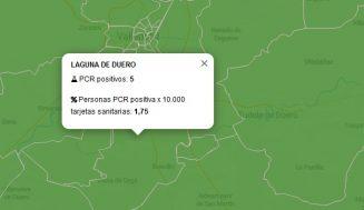 Repuntan los contagios en las áreas de salud de Laguna de Duero e Íscar