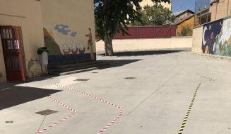 La Junta pone en cuarentena ocho nuevas aulas en Valladolid
