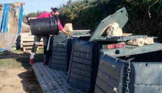 La Junta desarrolla un programa piloto de compostaje comunitario en el medio rural