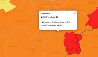 El naranja sigue campando en las áreas de salud de Tierra de Pinares