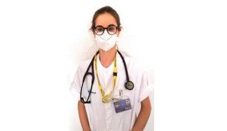 """Fátima Villafañe, médico residente en el Río Hortega de Valladolid: """"Los sanitarios vivimos un ambiente de decepción y preocupación"""""""