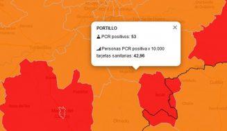 La de Portillo sigue marcando el máximo de contagios de las áreas de salud de Tierra de Pinares