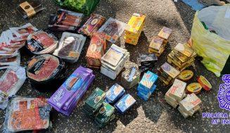 Tres detenidos por el robo de más de 200 artículos en varios establecimientos de Valladolid