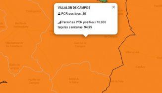 La Junta declara un brote de COVID-19 en la Zona Básica de Salud de Villalón de Campos