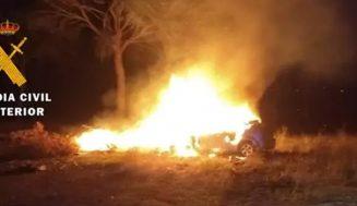 Detenido en Valladolid por quemar su coche en un pinar de Boecillo para dar parte al seguro y provocar un incendio forestal