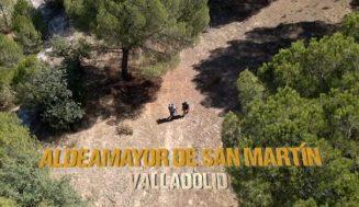 Las águilas calzadas de Aldeamayor, protagonistas del programa de televisión 'Río Salvaje'