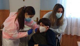 La vacuna contra el Covid 19 llegó a Aldeamayor de San Martín
