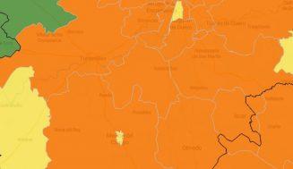 Tierra de Pinares comienza la semana con todas sus zonas básicas de salud en naranja