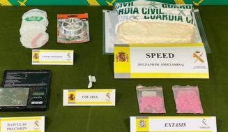 Desmantelado un punto de venta de drogas en Íscar