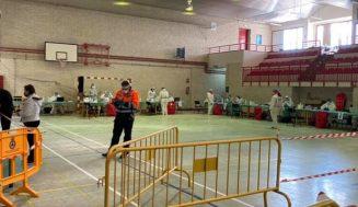 El cribado realizado por la Junta en Serrada se cierra con 56 positivos de los 1.952 test realizados