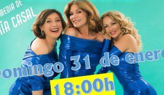 La televisiva María Casal presenta en Boecillo la comedia 'Ballenas Asesinas'