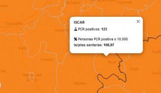 La Zona Básica de Salud de Íscar supera los 120 PCR positivos en los últimos 7 días