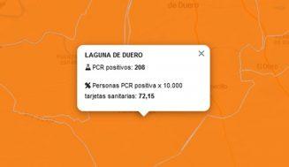 Siguen subiendo los contagios en la Zona Básica de Laguna de Duero