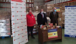 El subdelegado del Gobierno presenta la entrega de la tercera fase del programa de ayuda alimentaria a las personas desfavorecidas