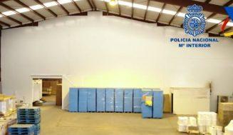 Nueve detenidos y dos fábricas ilegales de cajetillas de tabaco desmanteladas en Valladolid