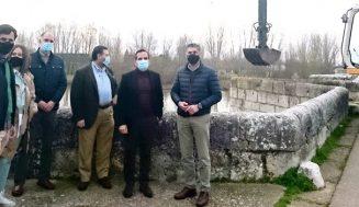 La Junta restaurará el Puente de Simancas con una inversión de más de 1,1 millones de euros