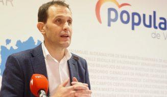 Conrado Íscar marca las principales líneas de trabajo del nuevo PP de Valladolid