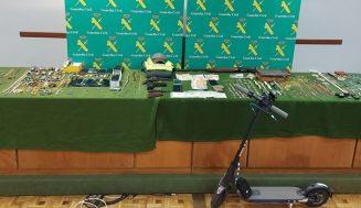 Cuatro detenidos y dos investigados por el robo con violencia en una vivienda de la localidad de Quintanilla de Onésimo
