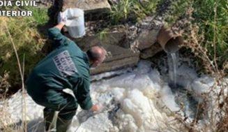 Dos investigados como responsables de un vertido ilegal en un arroyo de Aldeamayor