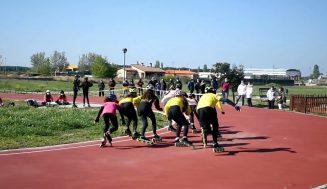 El Campeonato Escolar de Patinaje de Velocidad volvió a reunir a jóvenes aficionados de toda la provincia en Aldeamayor