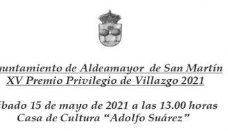 El Ayuntamiento de Aldeamayor concede el premio 'Privilegio de Villazgo 2021' a las residencias de mayores Jireysa y El Compasco
