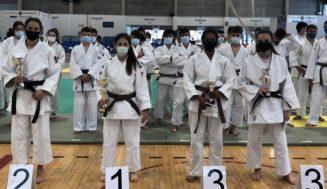 El Club deportivo La Victoria continúa la senda del triunfo con otras dos medallas en el Regional Cadete de Judo