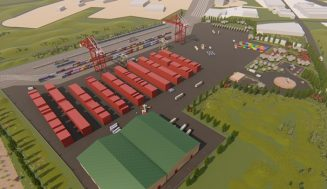 El Ayuntamiento de Medina del Campo recibe la visita de una delegación de Portugal para impulsar la 'Terminal Logística Ferroviaria'