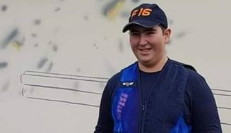 El vianero Gonzalo García Ramos se proclama subcampeón de Europa junior de Foso Universal