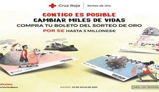 Último mes de la campaña del Sorteo de Oro de Cruz Roja